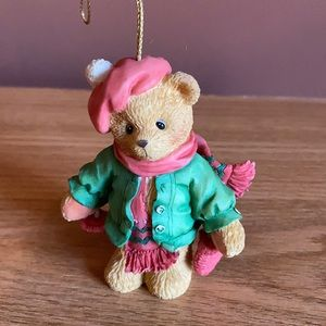 Cherished Teddies collectible Christmas ornament